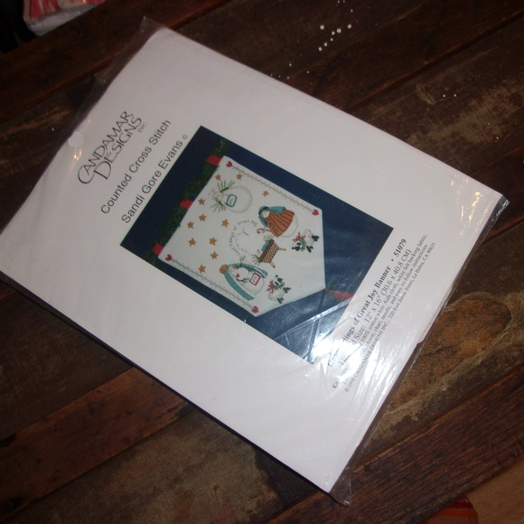 Candamar designs Other - Christmas Banner Counted X Stitch Kit